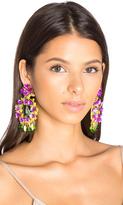 Mercedes Salazar Floral Stone Earring