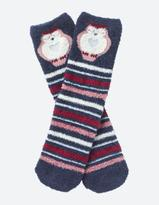 Fat Face One Pack Owl Fluffy Socks