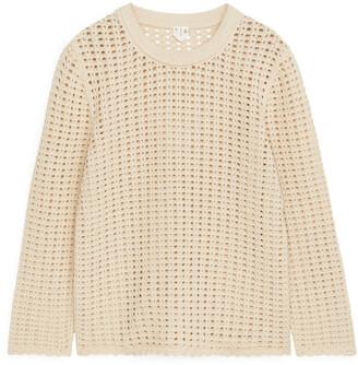 Arket Cotton Crochet Top