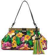 Patricia Nash Summer Evening Bloom Collection Tasseled Ferrara Satchel