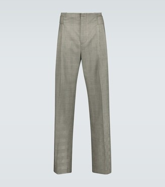 Cmmn Swdn Jade pleated wool pants