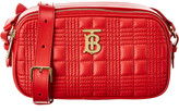 Burberry Micro Tb Quilted Leather Camera Bag