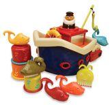 Toysmith B. Fish & Splish Bath Boat