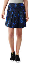 Classic Women's Active Pleated Skort-Purple Wildflower