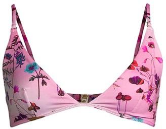 Stella McCartney Trippy Floral Bikini Top