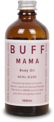 Buff Natural Body Care Buff Mama Gentle Blend Body And Bathe Oil 100Ml