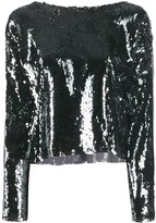 Champion sequinned blouse