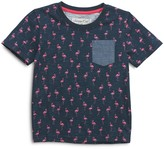 Sovereign Code Boys' Flamingo Print Pocket Tee