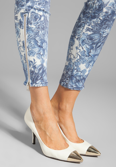 Mother The Looker Ankle Zip