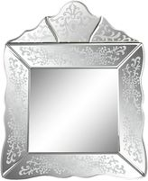 Sterling Industries 16.25-Inch x 21-Inch Time Square Mirror