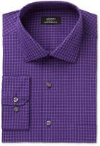 Alfani Men's Classic/Regular Fit Performance Stretch Easy Care Box Print Dress Shirt, Created for Macy's