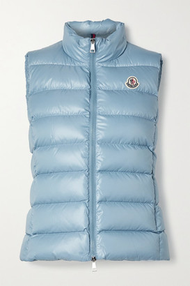 Moncler Ghany Quilted Shell Down Gilet - Sky blue