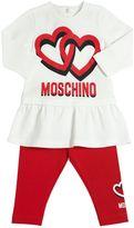 Moschino Cotton Jersey Top & Leggings Set