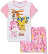 Disney Girl's Super Wing QE2227 Pyjama Sets