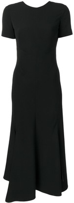 Victoria Beckham short-sleeved midi dress