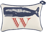 Thomas Paul W Whale Door Pillow