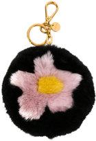 Miu Miu flower keyring