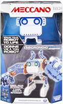 Meccano MEC TEC MicroNoids Programmable Blue Robot