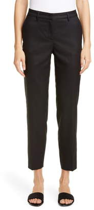 Fabiana Filippi Metallic Wool Blend Slim Pants