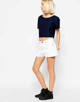 Dr. Denim Jenn Relaxed Short With Roll Hem