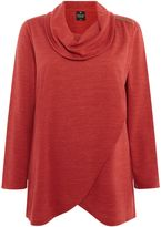 Tigi Detailed Cowl Neck Tunic