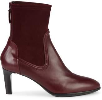 Aquatalia Dasha Leather & Suede Heeled Booties