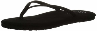 Cobian Women's Nias Black Flip Flops 9