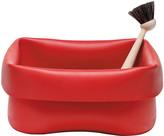 Normann Copenhagen Washing-up Bowl & Brush - Red