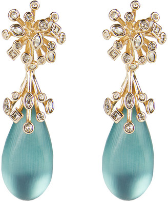 Alexis Bittar Crystal Burst Post Drop Earring