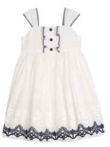 Laura Ashley Little Girls Eyelet Dress