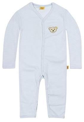 Steiff Baby 0006631 1 Pc. Playsuit Romper, Blue, (Size:86)