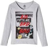Eleven Paris Boy's AVENUE LS V-Neck Long Sleeve T-Shirt