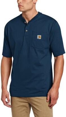 Carhartt Men's Workwear Pocket Short Sleeve Henley Original Fit K84