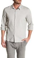 Save Khaki Oxford Simple Classic Fit Shirt