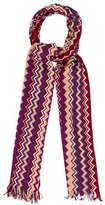 Missoni Knit Chevron Scarf