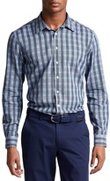 Thomas Pink Austin Check Slim Fit Casual Shirt - Bloomingdale's Slim Fit