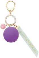LADUREE Macaron Bag Charm - Cassis Violet