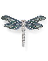 Nadri Pavé Dragonfly Pin