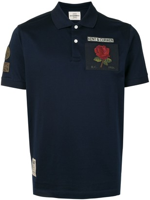 Kent & Curwen Multi-Patch Logo Polo Shirt