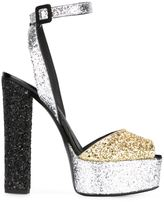 Giuseppe Zanotti Design 'Betty' platform sandals - women - Calf Leather/Leather/other fibers - 37