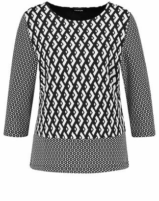 Taifun Women's 471052-16602 Long Sleeve Top