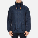 Barbour Hooded Bedale Jacket Navy