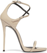 Giuseppe Zanotti Patent-leather Sandals - Blush