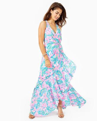 Lilly Pulitzer Taylee Flounce Maxi Dress