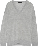 Alexander Wang Cutout Merino Wool Sweater - Gray