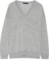 Alexander Wang Cutout Merino Wool Sweater - small