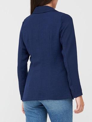 Very Soft Tailored Blazer - Navy