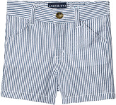 Andy & Evan Blue Seersucker Shorts