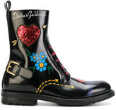 Dolce & Gabbana lace-up chunky boots