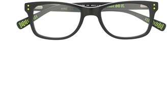 Nike Kids Rectangle Frame Glasses